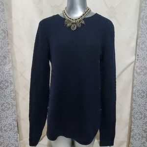 Artisan NY Blue Knit Long Sleeve Sweater